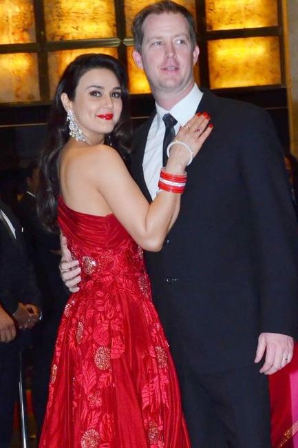 Preity Zinta to husband Gene Goodenough