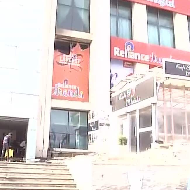 Premises of Welcome hotel in Dwarka gushing in fire