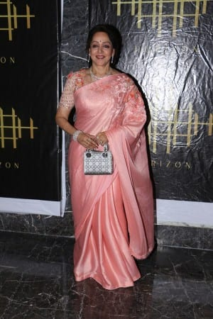Bollywood's 'Dream Girl' Hema Malini Celebrates Her 70th Birthday With Friends And Family