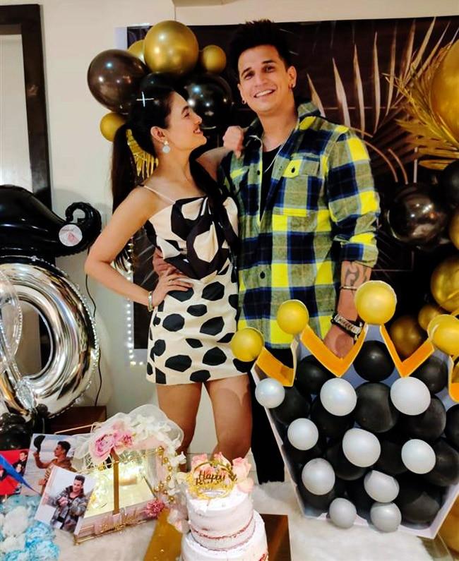 Prince Narula Birthday  Yuvika shares Romantic Pictures