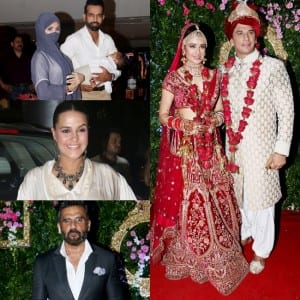 Prince Narula - Yuvika Chaudhary's Wedding Pictures: Suniel Shetty, Neha Dhupia, Jay-Mahi, Gurmeet-Debina Attend The Lavish Ceremony