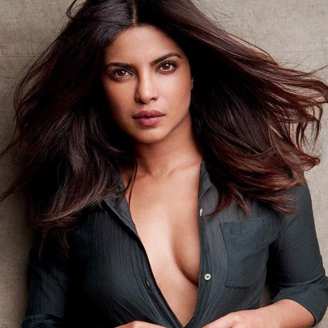 Priyanka Chopra flaunts her cleavage during sexy shoot