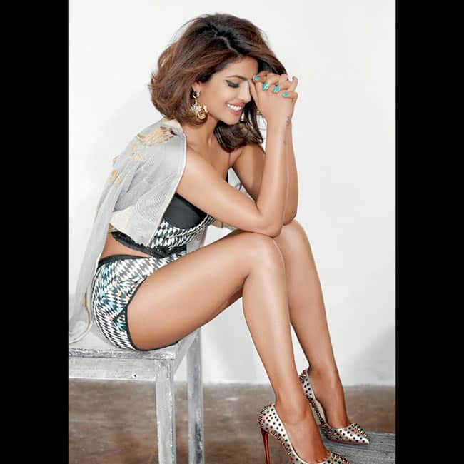 Priyanka Chopra flaunts her sexy legs in this bold shoot