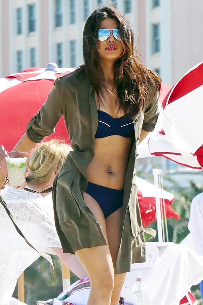 Priyanka Chopra Swimwear And Bikini Pictures