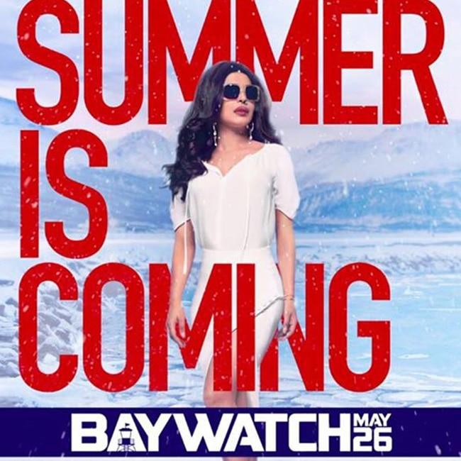 Priyanka Chopra rules the new poster of Baywatch