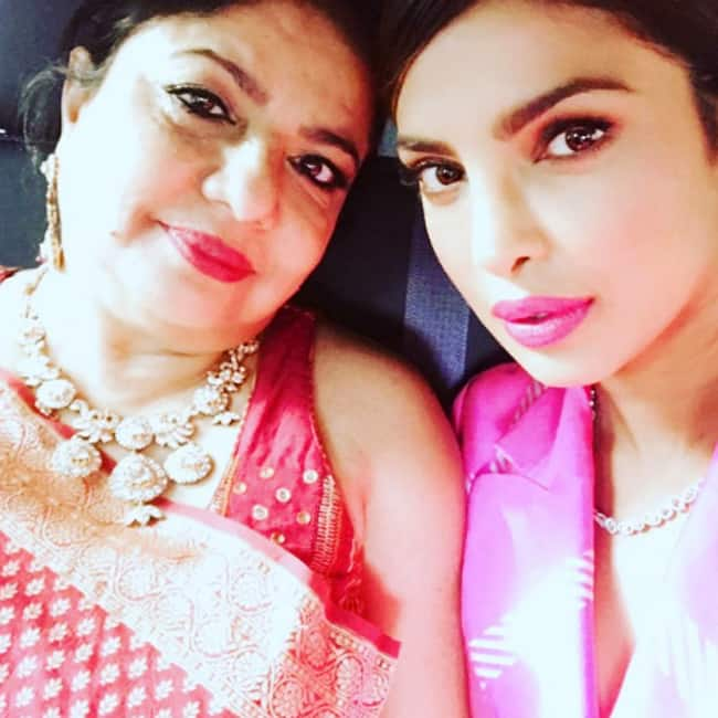 Priyanka Chopra shares a selfie with her mother on Instagram