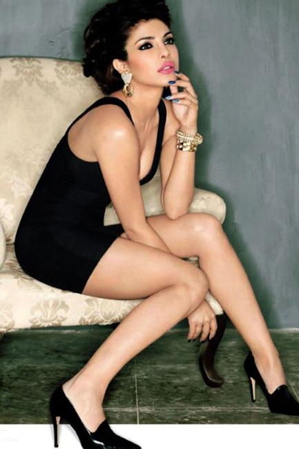 Priyanka Chopra shows off sexy legs during seductive shoot
