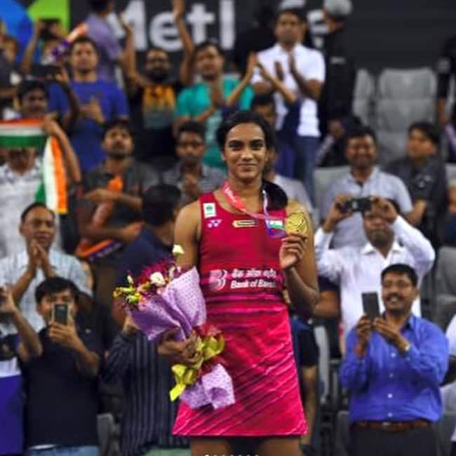 PV Sindhu shares a picture on Instaagram