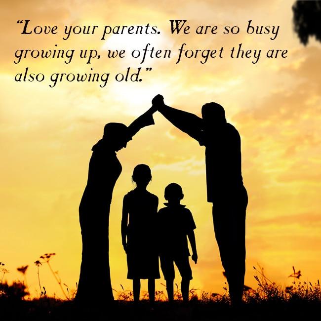 Parents efforts put for childrens upbringing