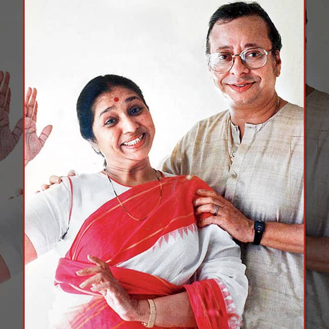 R  D Burman and Asha Bhosle first met while recording    Yeh Ladki Zara Si Deewani Lagti Hai