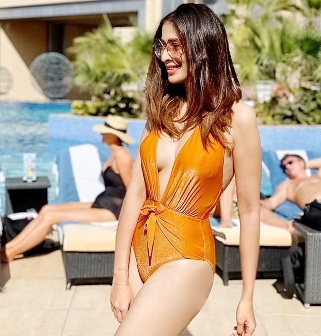 Raai Laxmi Leaves Temperature Raising With Her Hot Monokini Look