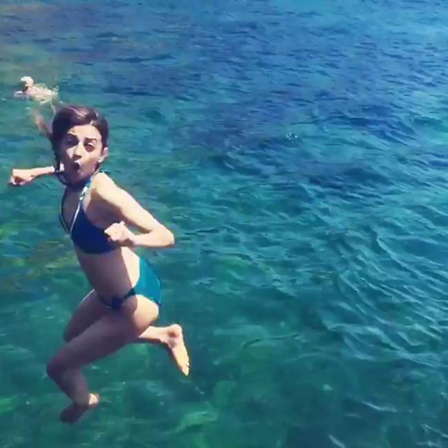 Radhika Apte   s underwater bikini picture