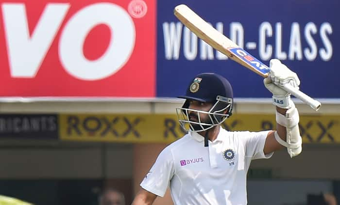 Rahane Scores First Test Ton At Home After Three Years