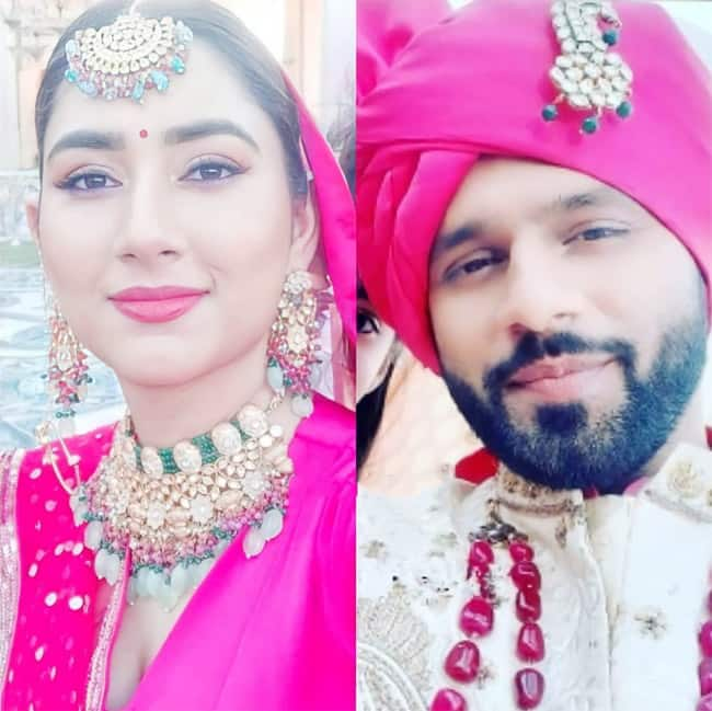 Rahul Disha portray as a bride and a groom for this new video