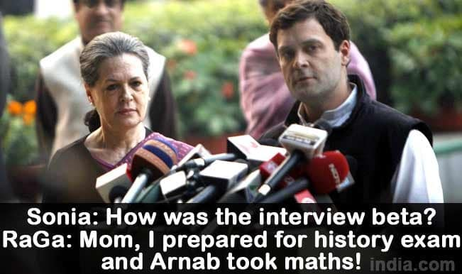 Rahul Gandhi memes from latest interview with Arnab Goswami