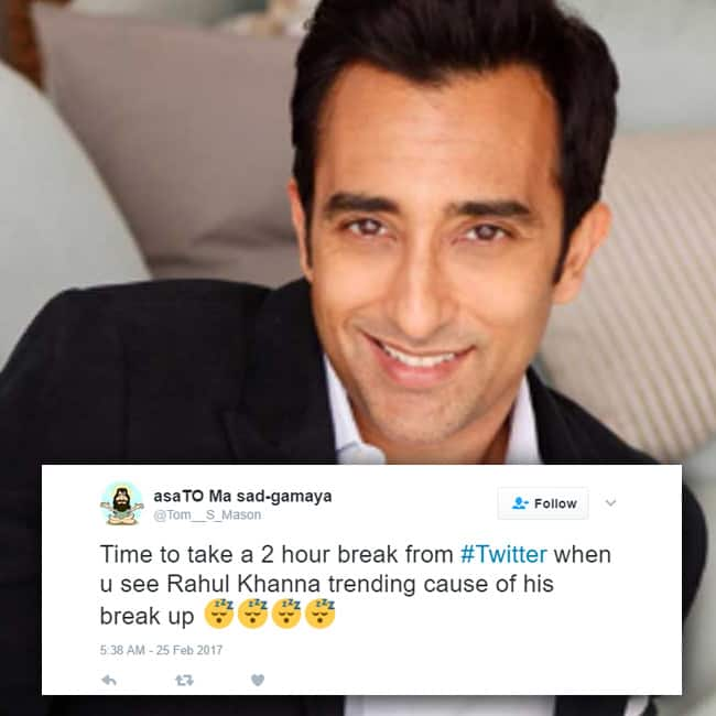 Rahul Khanna gets trolled on twitter for his relationship status