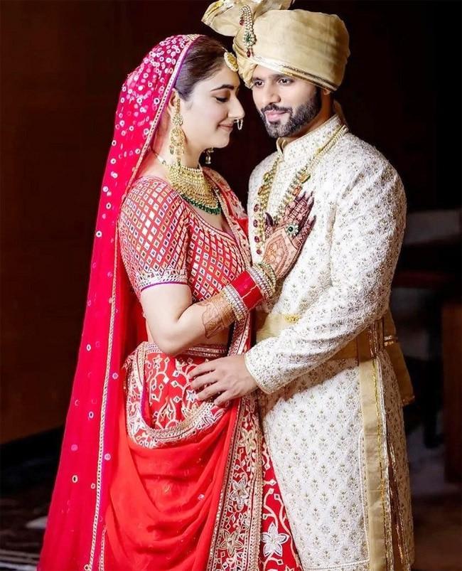 Rahul Vaidya    Disha Parmar   s official wedding photos out