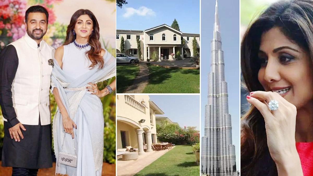 Raj Kundra Gifted Wife Shilpa Shetty a Flat in Burj Khalifa  7 Bedroom Villa in UK  Lamborghini And Many More     See Expensive Gifts List Here