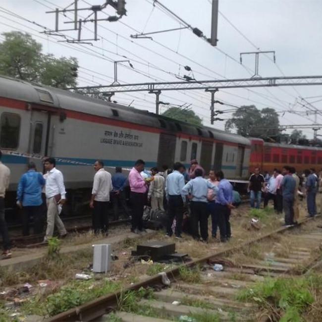Rajdhani Express derailment in Delhi