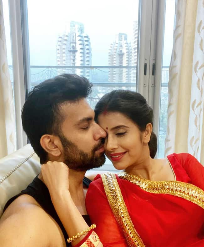 Rajeev Sen And Wife Charu Asopa Sen Can't Get Their Eyes Off Each Other
