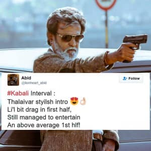Kabali tweet movie review: Check out what Rajinikanth fans have to say about the movie
