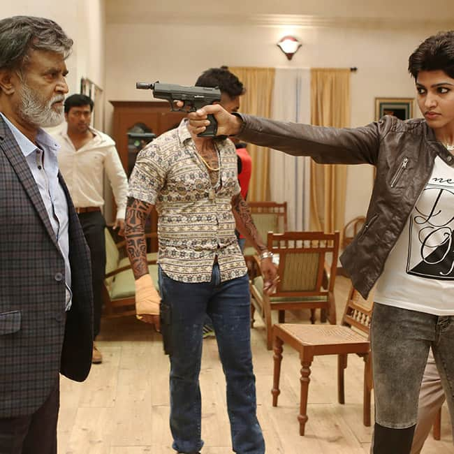 rajinikanth in new movie still of kabali kabali movie stills