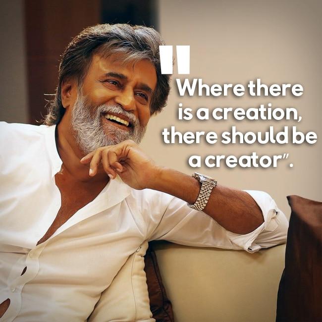 Rajinikanth   s motivational quote
