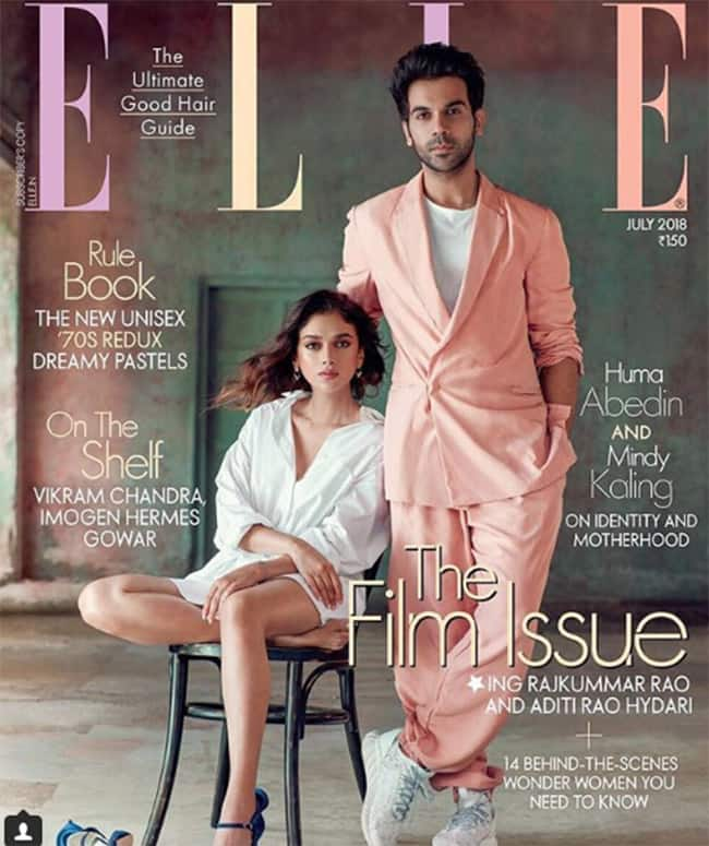Rajkummar Rao And Aditi Rao Hydari Strikes a Classy Look For Latest Magazine Cover