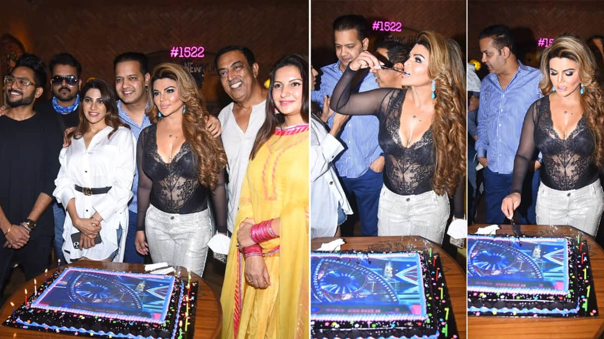 Rakhi Sawant throws Bigg Boss 14 success party for all the contestants