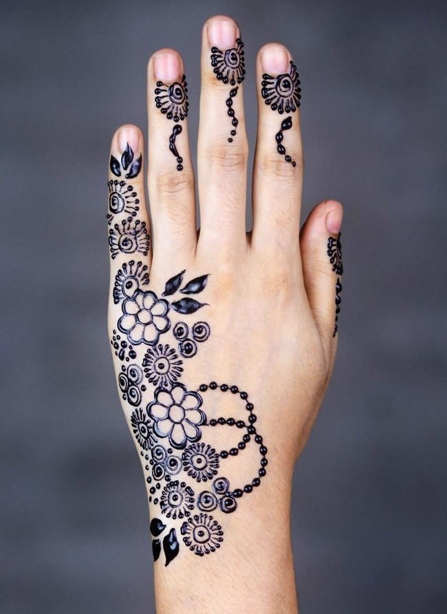 Raksha Bandhan Mehndi Design  The Art of Minimalism