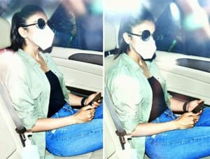 PHOTOS: Rakul Preet Singh arrives at NCB office, to be questioned in drugs case