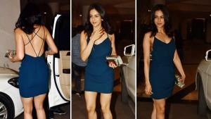 Rakul Preet Singh Attends Karan Johar's Party in a Backless Dress - Yay or Nay?