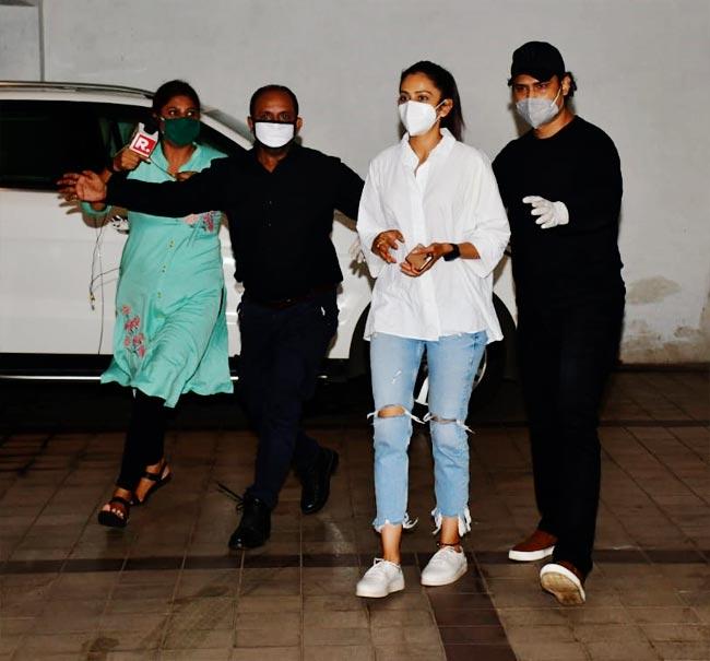 Rakul Preet Singh reaches Mumbai after receiving the summons from the NCB