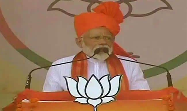 Rallying in Rajasthan  PM Modi Talks About Cyclone Fani  Says Country Supports Those Hit