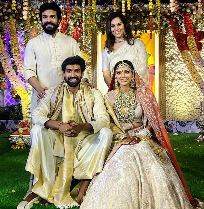 Ram Charan Shares First Official Picture of The Couple