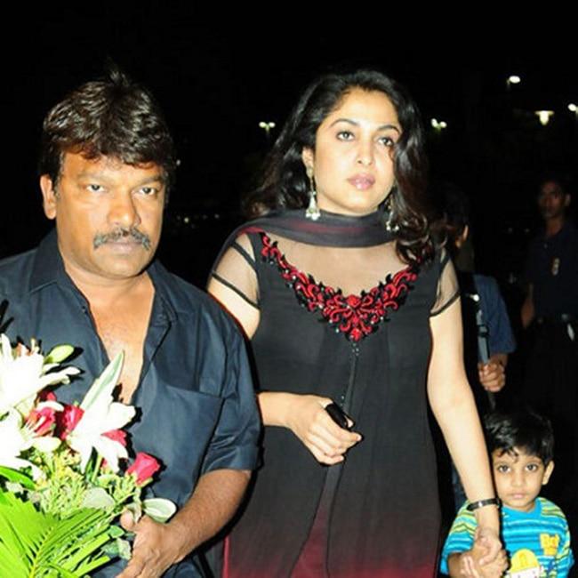 Ramya Krishnan with husband Krishna Vamsi