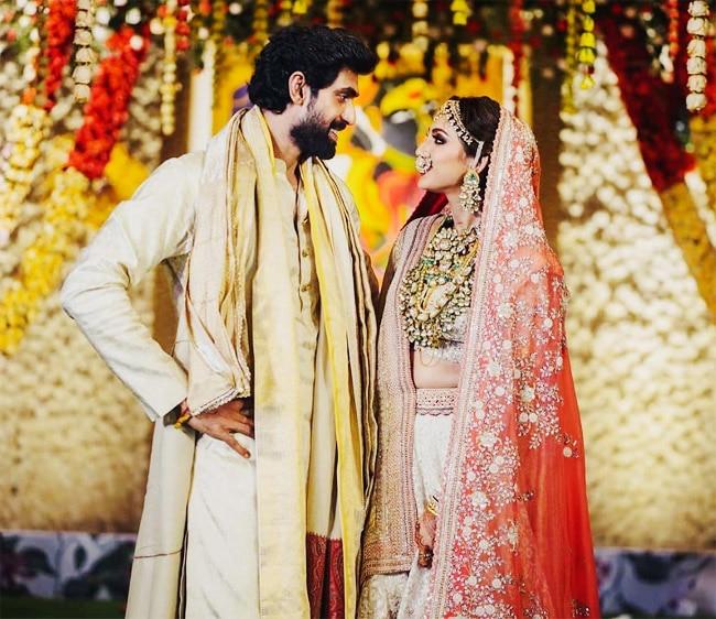 Rana Daggubati and Miheeka Bajaj wedding inside pics out