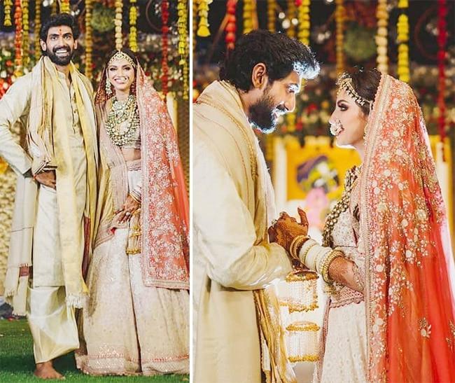 Rana Daggubati and Miheeka Bajaj wedding pics