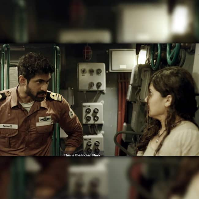 Rana Daggubati and Taapsee Pannu are in the main lead in the movie The Ghazi attack