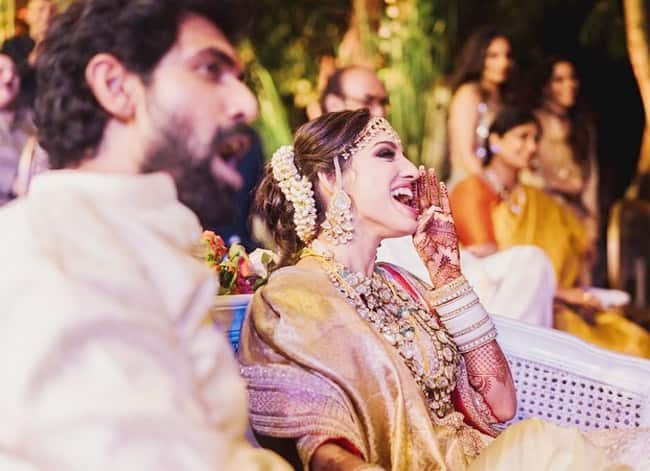 Rana Daggubati Miheeka Bajaj Perform Wedding Rituals