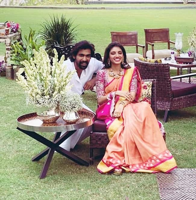 Rana Daggubati shared the ceremony pictures and said 'official'