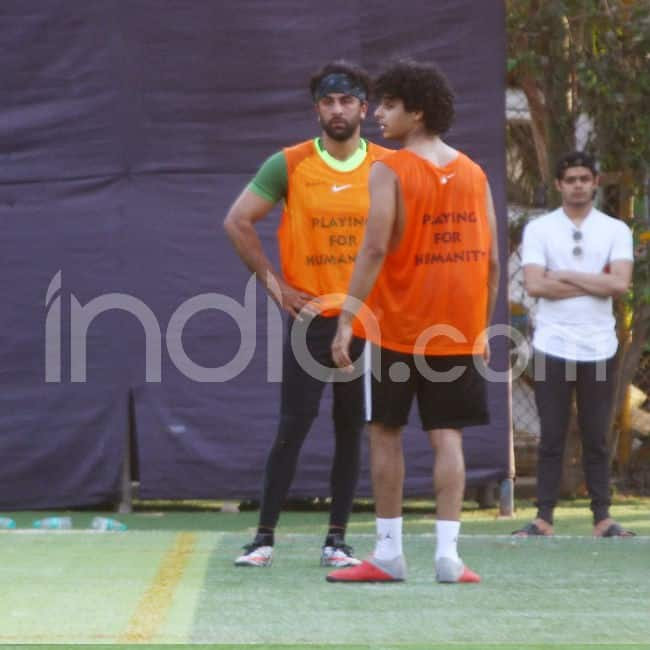 Ranbir Kapoor and Ishaan Khatter spotted
