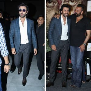 In PICS: Ranbir Kapoor shines at the trailer launch of Sanjay Dutt's Bhoomi!