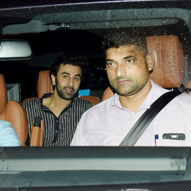 Ranbir Kapoor spotted at the special screening of Sanju