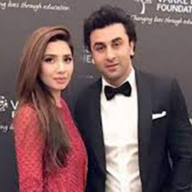 Ranbir Kapoor with Mahira Khan at Global Teacher Prize in Dubai