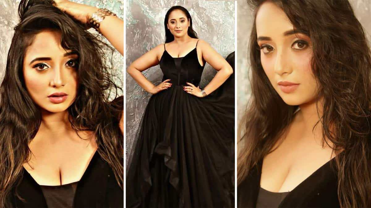 Rani Chatterjee   s sizzling photos in sexy black gown will lift up your mood