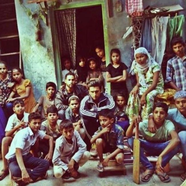 Ranveer  Alia shot in real slums for over 25 days