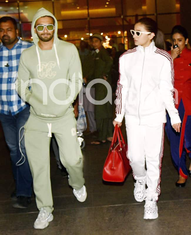 Ranveer and Alia have returned to the city