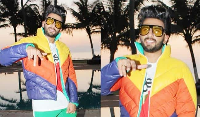 Ranveer Biting Off Instagram Logo
