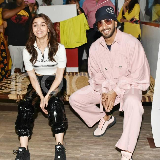 Ranveer Singh and Alia Bhatt look stylish